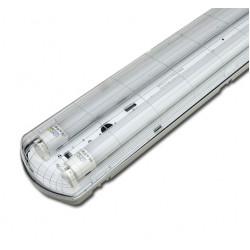 Dubbel LED tube armatuur