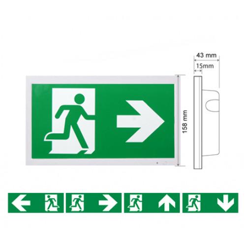 SCHELFHOUT / Vluchtwegverlichting