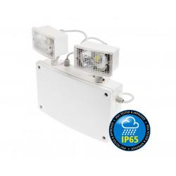 Twinspot noodverlichting - IP65