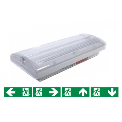 WARHOL / vluchtweg- of noodverlichting (incl. stickers)